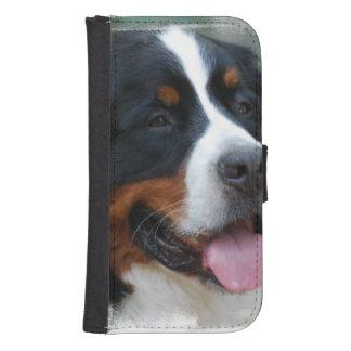 bernese-mountain-dog-7 funda tipo cartera para galaxy s4