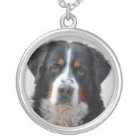 Bernese Mountain dog beautiful photo, gift Necklace