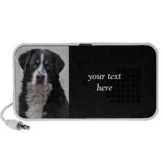 Bernese Mountain dog beautiful photo gift Portable Speaker
