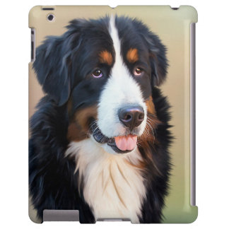 Bernese Mountain dog beautiful portrait ipad case