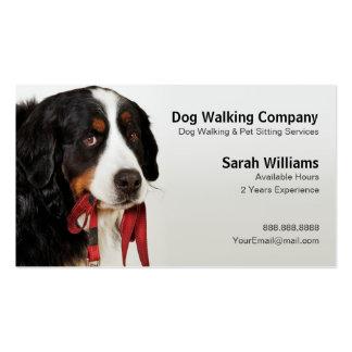 Bernese Mountain Dog (Berner Sennenhund) Double-Sided Standard Business Cards (Pack Of 100)