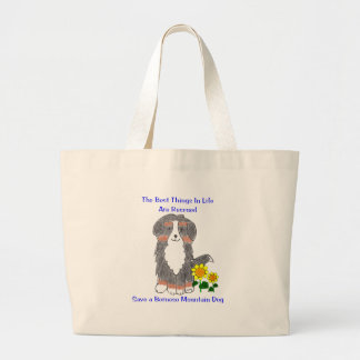 Bernese Mountain Dog Best Things In Life Tote Bag