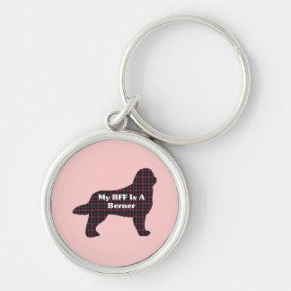 Bernese Mountain  Dog BFF Keychain