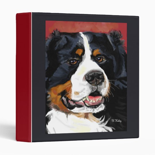 Bernese Mountain Dog binder