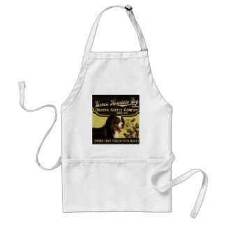 Bernese Mountain Dog Brand – Organic Coffee Compan Adult Apron