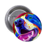 Bernese Mountain Dog Buttons