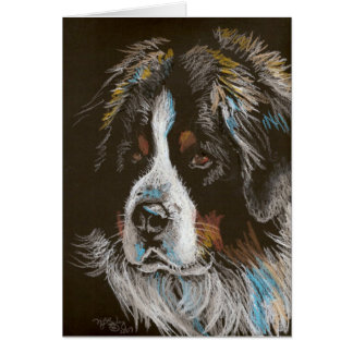 Bernese Mountain Dog Stationery Note Card