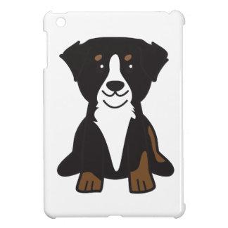 Bernese Mountain Dog Cartoon Cover For The iPad Mini