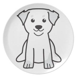 Bernese Mountain Dog Cartoon Party Plates