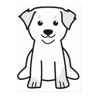 Bernese Mountain Dog Cartoon Post Card