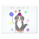 Bernese Mountain Dog Celebrate Card