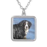 Bernese Mountain Dog Custom Necklace