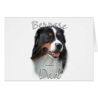 Bernese Mountain Dog Dad 2 Card