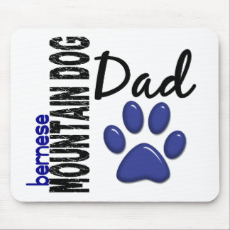 Bernese Mountain Dog Dad 2 Mouse Pad