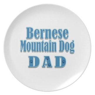 Bernese Mountain Dog Dad Dinner Plates