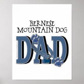 Bernese Mountain Dog DAD Print