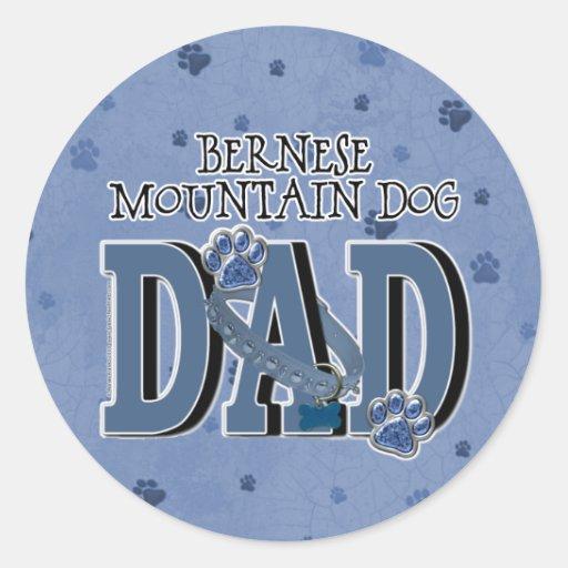 Bernese Mountain Dog DAD Sticker
