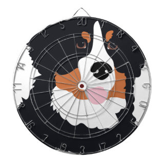 Bernese Mountain Dog Dart Boards