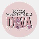 Bernese Mountain Dog DIVA Sticker