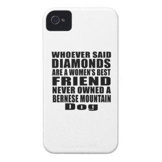 BERNESE MOUNTAIN DOG DOG BEST FRIEND DESIGNS iPhone 4 CASE