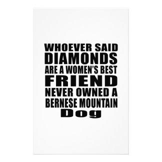 BERNESE MOUNTAIN DOG DOG BEST FRIEND DESIGNS STATIONERY