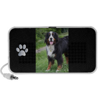 Bernese Mountain Dog doodle speakers gift idea