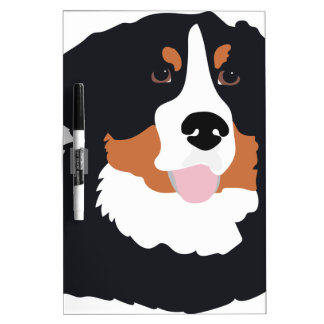 Bernese Mountain Dog Dry Erase Board