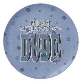Bernese Mountain Dog DUDE Plates
