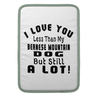 BERNESE MOUNTAIN DOG FUNNY DESIGNS MacBook AIR SLEEVE