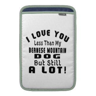 BERNESE MOUNTAIN DOG FUNNY DESIGNS MacBook AIR SLEEVES