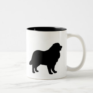 Bernese Mountain Dog Gear Two-Tone Coffee Mug