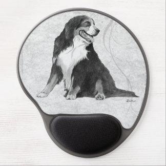 Bernese Mountain Dog Gel Mouse Pad