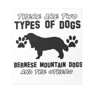 bernese mountain dog gift items notepad
