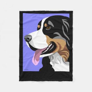 Bernese Mountain Dog Gifts Fleece Blanket