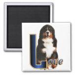 Bernese Mountain Dog Gifts Fridge Magnets