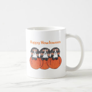 Bernese Mountain Dog Happy Howloween Mug