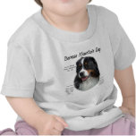 Bernese Mountain Dog History Design Tee Shirt