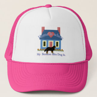 Bernese Mountain Dog Home Is Trucker Hat