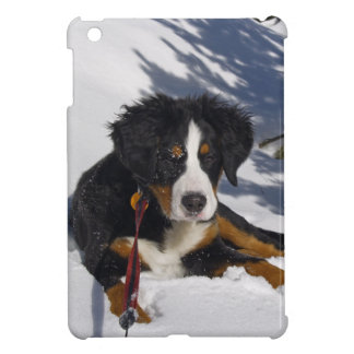 Bernese Mountain Dog in Snow iPad Mini Case