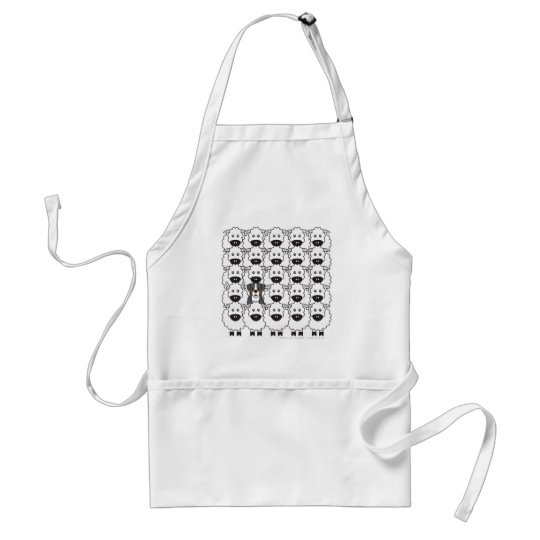 Bernese Mountain Dog in the Sheep Adult Apron