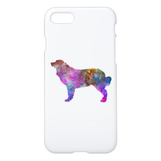 Bernese mountain dog in watercolor 2 iPhone 7 case