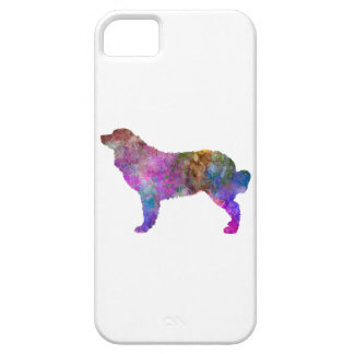 Bernese mountain dog in watercolor 2 iPhone SE/5/5s case