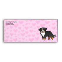 Bernese Mountain Dog Love Envelope