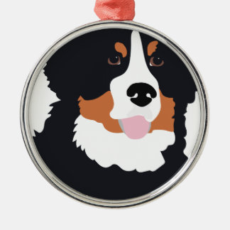 Bernese Mountain Dog Metal Ornament