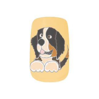 Bernese Mountain Dog Minx Nail Wraps