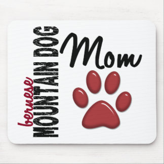 Bernese Mountain Dog Mom 2 Mouse Pad