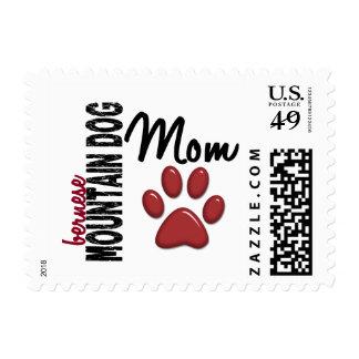 Bernese Mountain Dog Mom 2 Postage