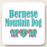 Bernese Mountain Dog Mom Hearts Beverage Coaster