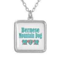 Bernese Mountain Dog Mom Hearts Pendant