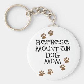 Bernese Mountain Dog Mom Keychain